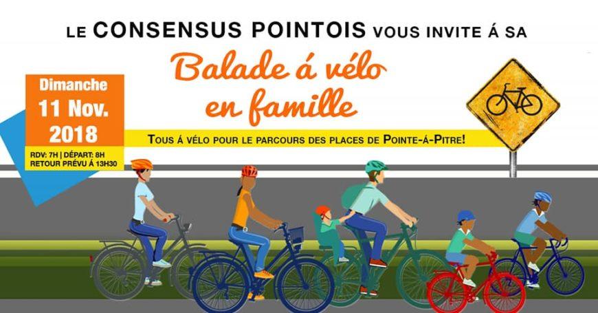 Balade á vélo en famille