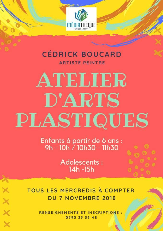 ATELIER D'ART PLASTIQUE DES 6 -12 ans