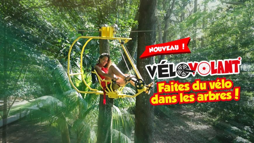 Vélovolants : une attraction exclusive dans toute la Caraïbe !
