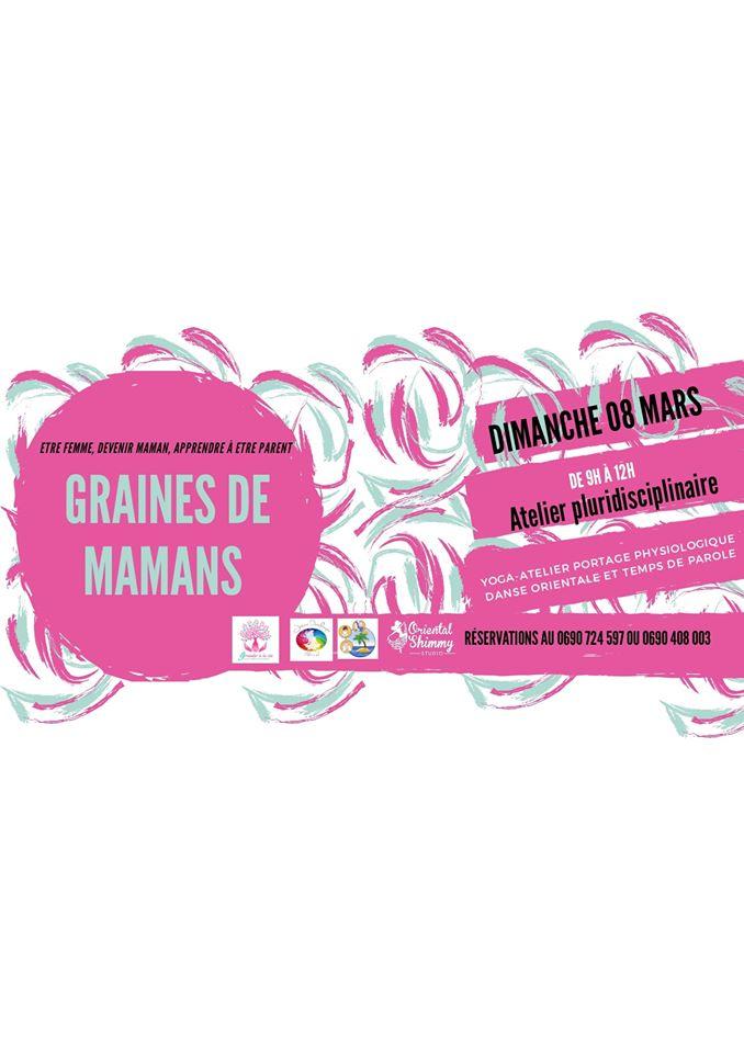 Graines de Mamans: Atelier pluridisciplinaire