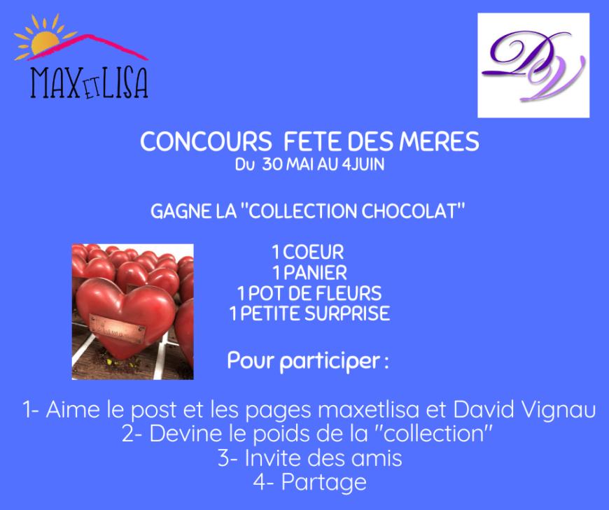 Concours fête des mères avec David Vignau