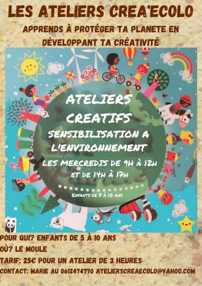 Ateliers de sensibilisation à l environnement avec activité créative: 5 à 10 ans