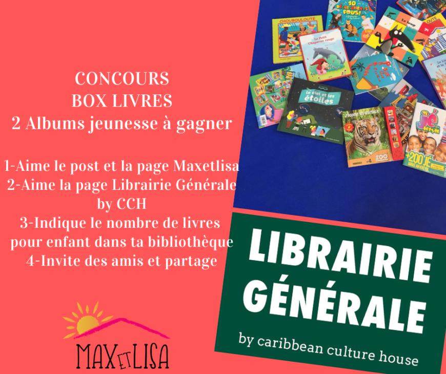 Merci Librairie Générale by CCH pour ce concours