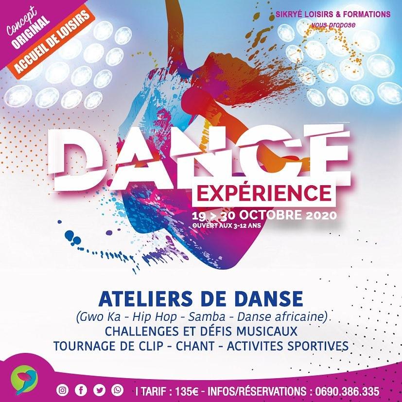 Vacances de Toussaint : DANCE EXPERIENCE – Danse ta vie …
