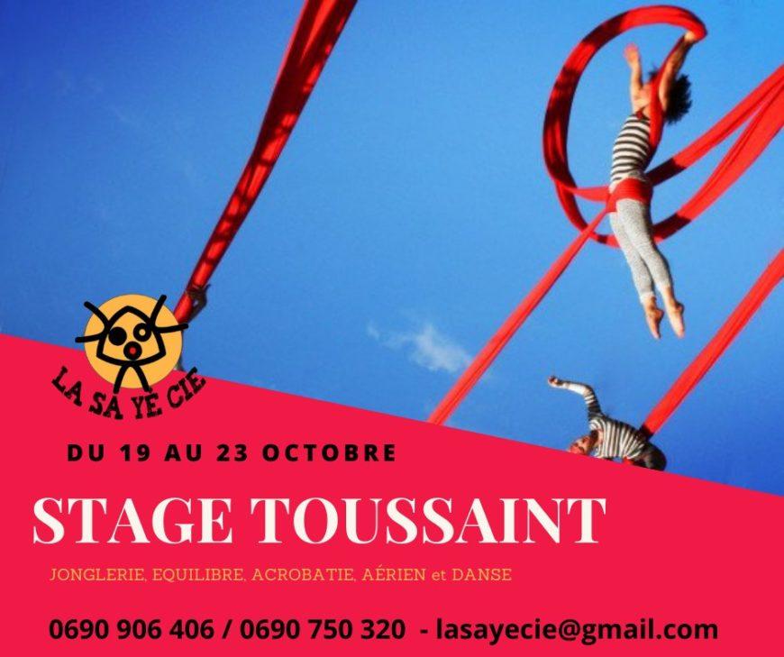 Les stages pour les Vacances de la Toussaint du 19 au 30 Octobre