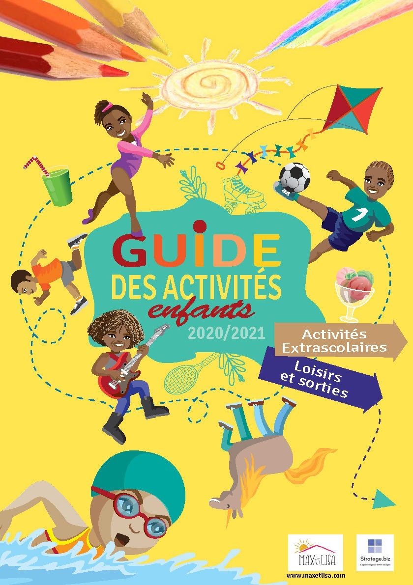 Le guide des activités des enfants 2020/2021 – Activités extrascolaires, loisirs et sorties