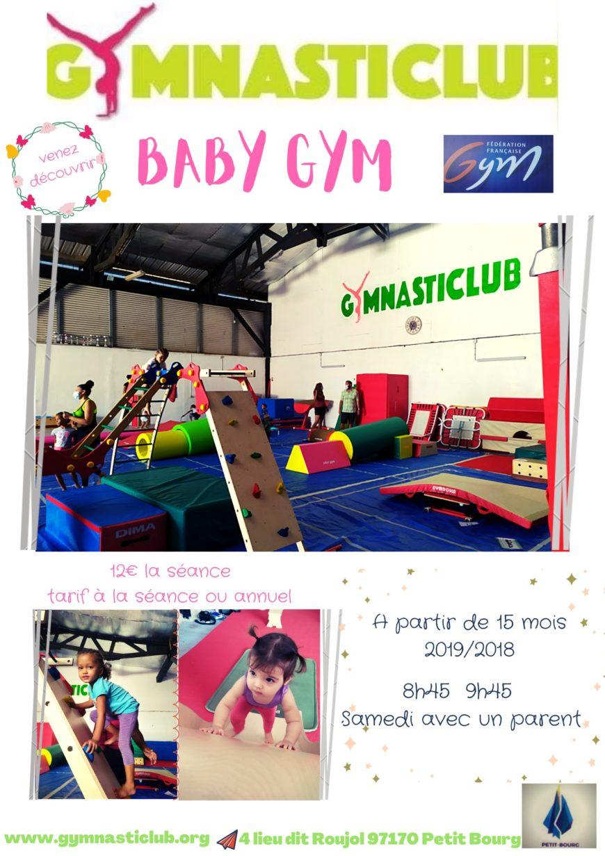 Cours de Baby gym à partir de 15 mois