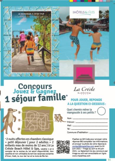 Sortie du Guide des activités  & Concours Gagne un séjour en famille