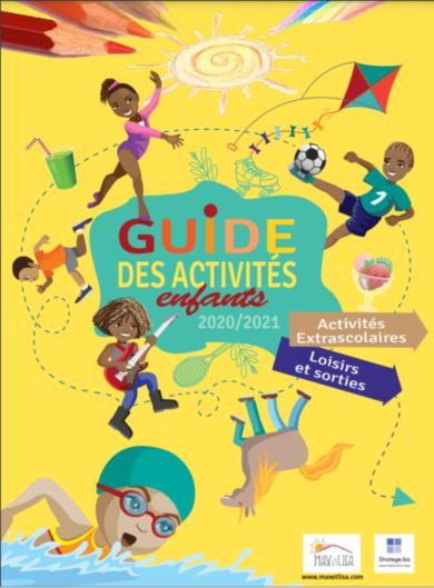 Points de distribution du Guide des activités des enfants + Guide à télécharger