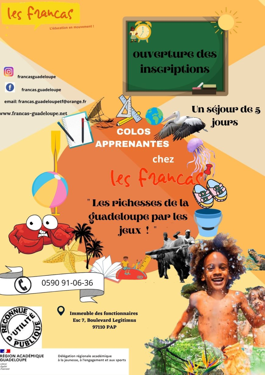 Les richesses de la Guadeloupe par les jeux