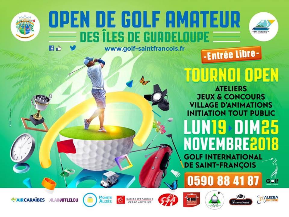 Open Golf Amateur -Initiation grand public