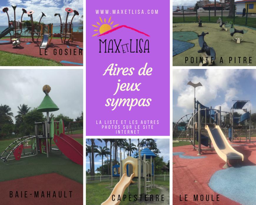 Les aires de jeux gratuites en Guadeloupe ! Une activité de proximité bien sympathique