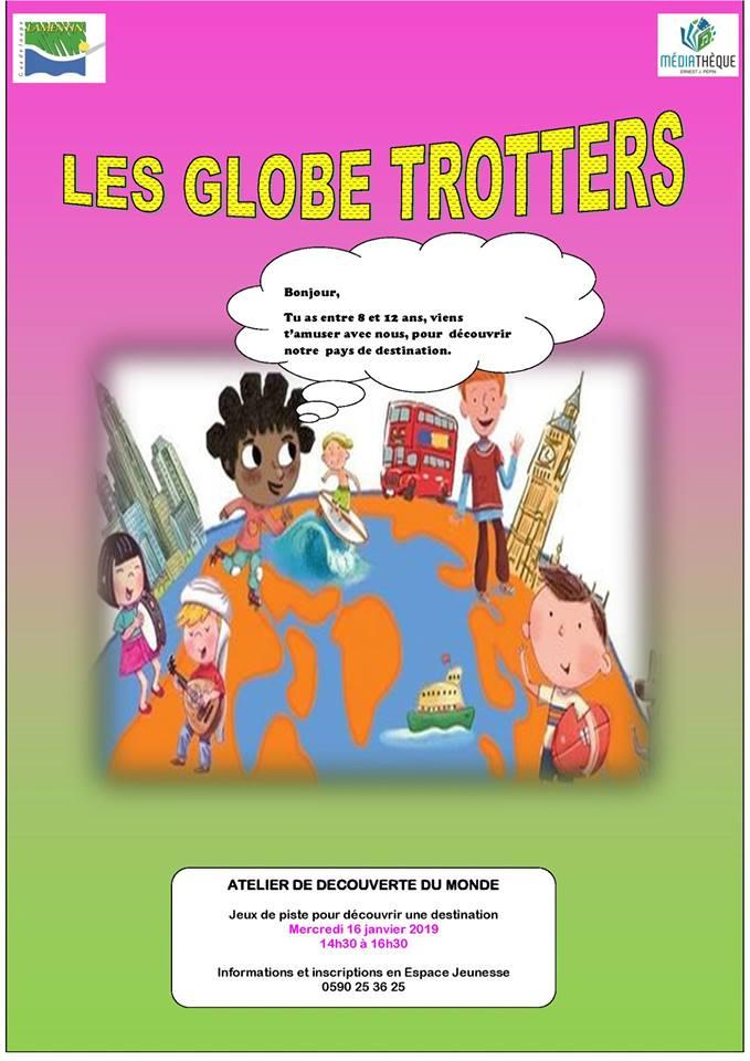 GLOBE TROTTERS – 8-12 ans