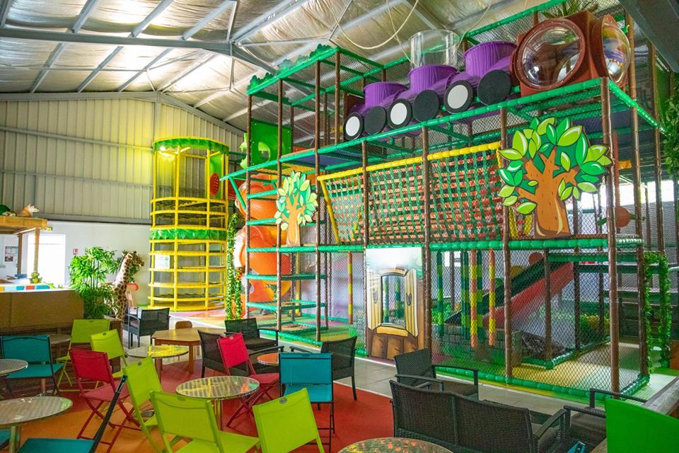 Noliparc, espace de jeux à Sainte Rose une expérience formidable