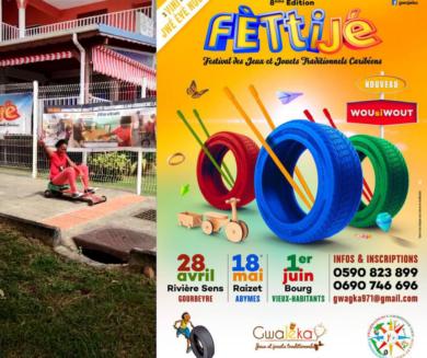 Fèstijé ou comment redécouvrir les jeux et jouets traditionnels de La Guadeloupe.