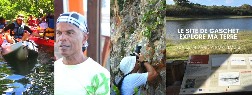 Des passionnés, mais surtout des professionnels pour animer l'activité EXPLORE MA TERRE du 14 avril à Port Louis
