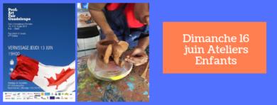 Les enfants à la Pool Art Fair du 14 au 16 juin 2019