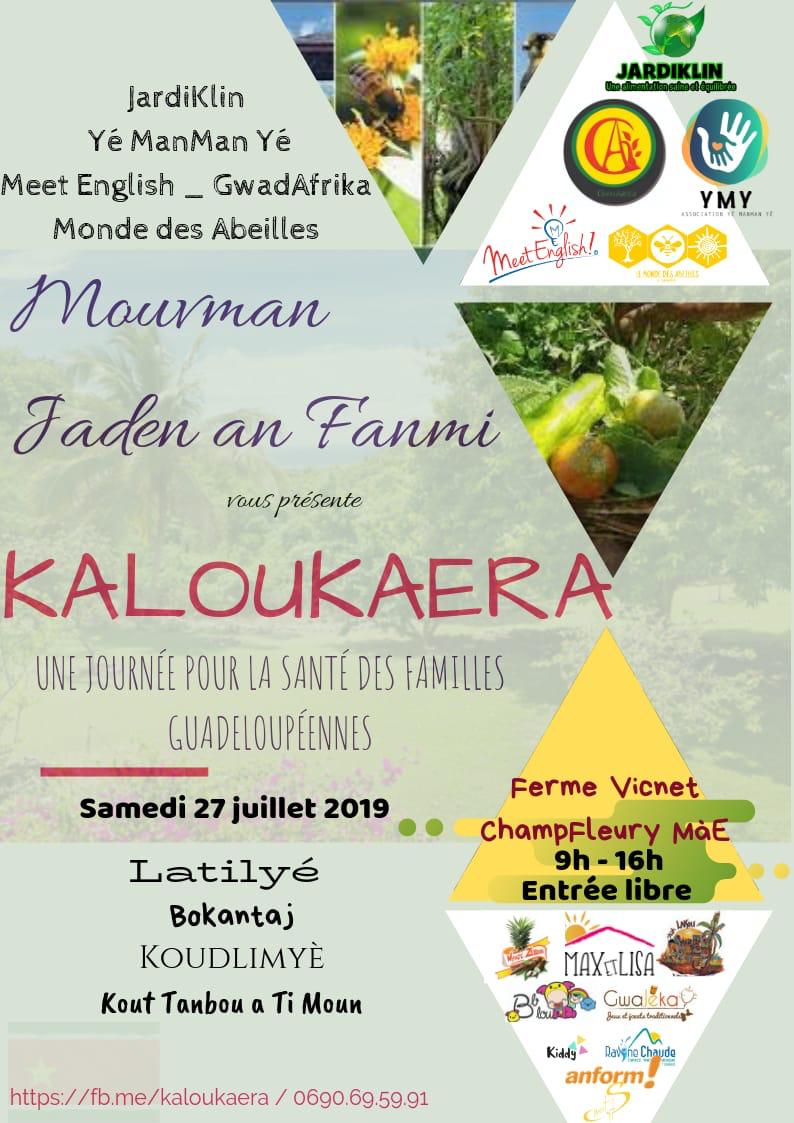KALOUKAERA – Une journée pour la santé des familles guadeloupéennes le samedi 27 juillet