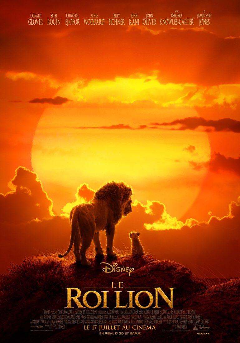 Le Roi Lion , la sortie de la semaine le 19 juillet !