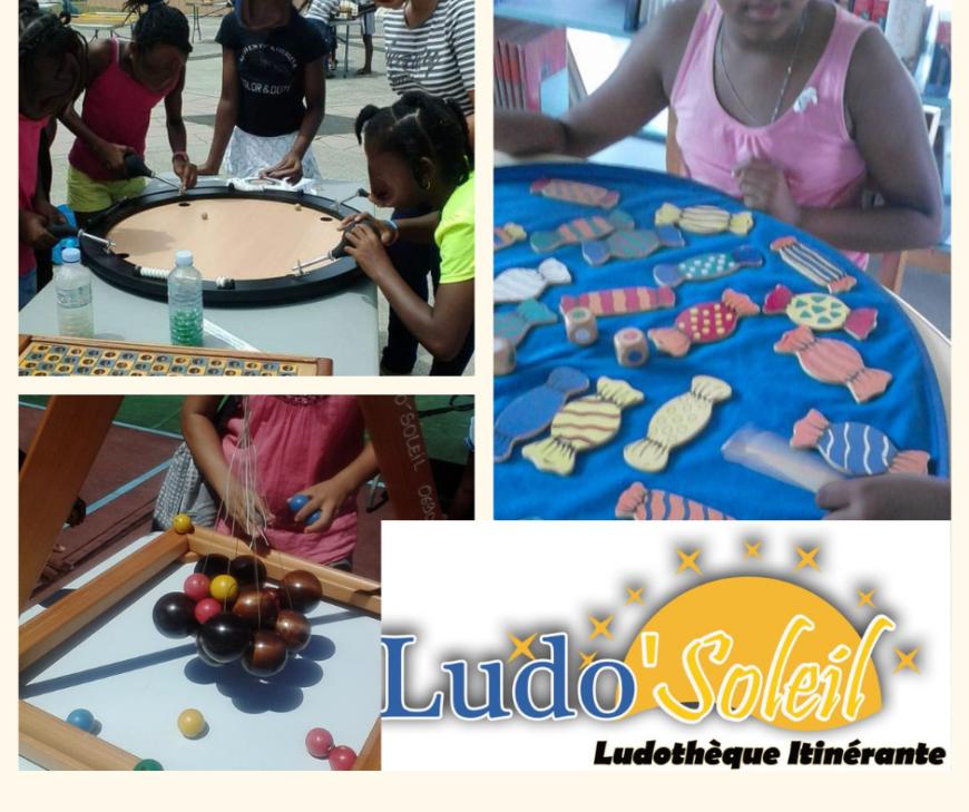 Connaissez vous la ludothèque, Ludo'Soleil en Guadeloupe ?