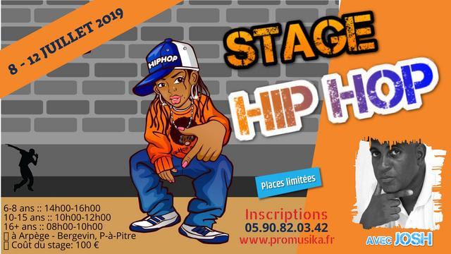 Stage de Hip-Hop 8 – 12 juillet 2019