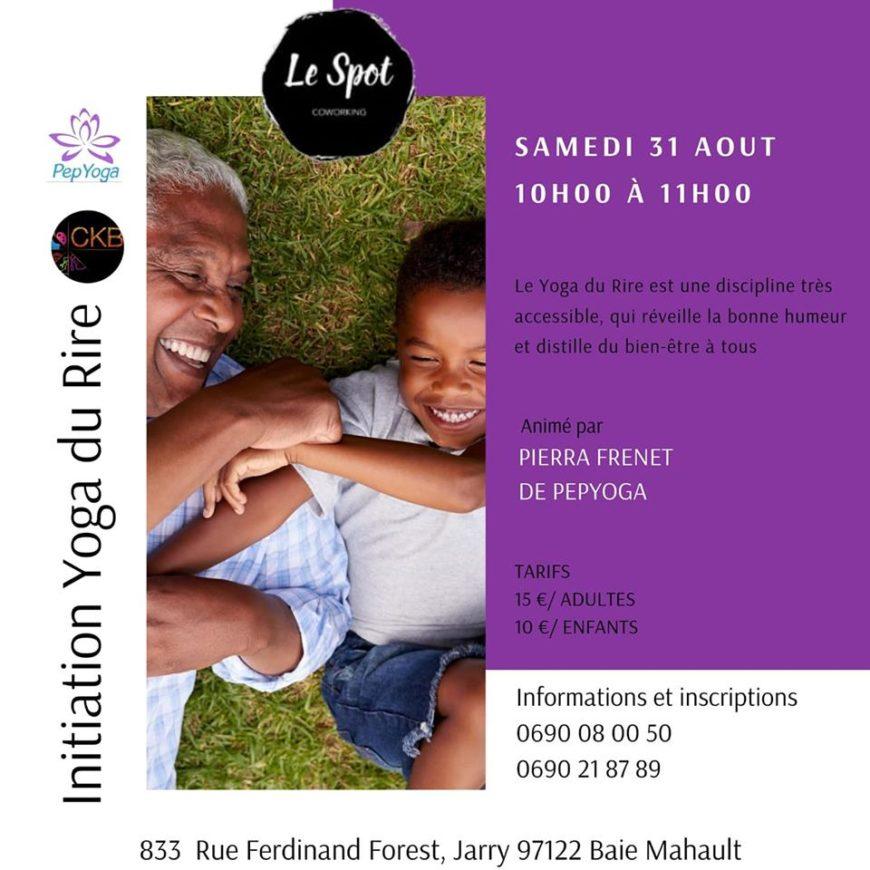 Initiation Yoga Du Rire Avec Pierra FRENET