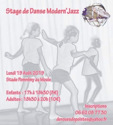 Stage de danse moderne – Le Moule