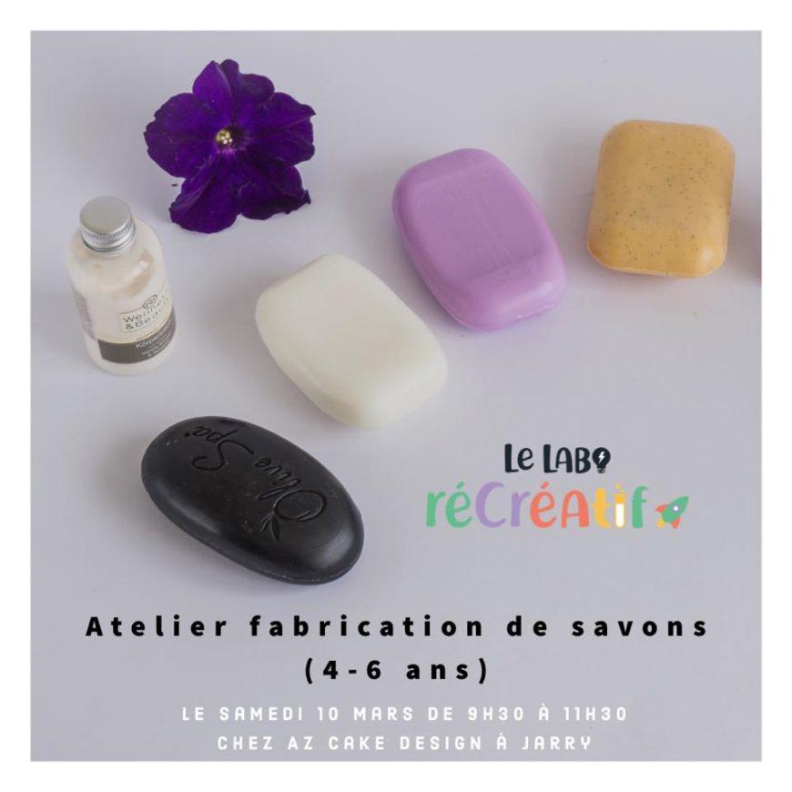 Fabrication de savons :  10 Août  Baie-Mahault