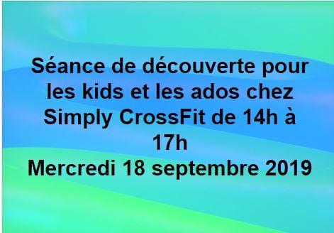 CrossFit pour les kids – 14h à 17h