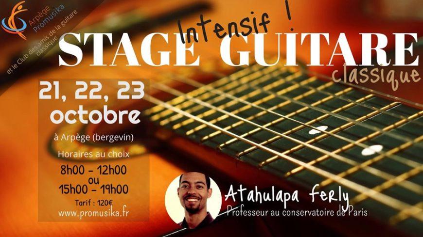 Stage de Guitare classique avec Atahualpa Ferly