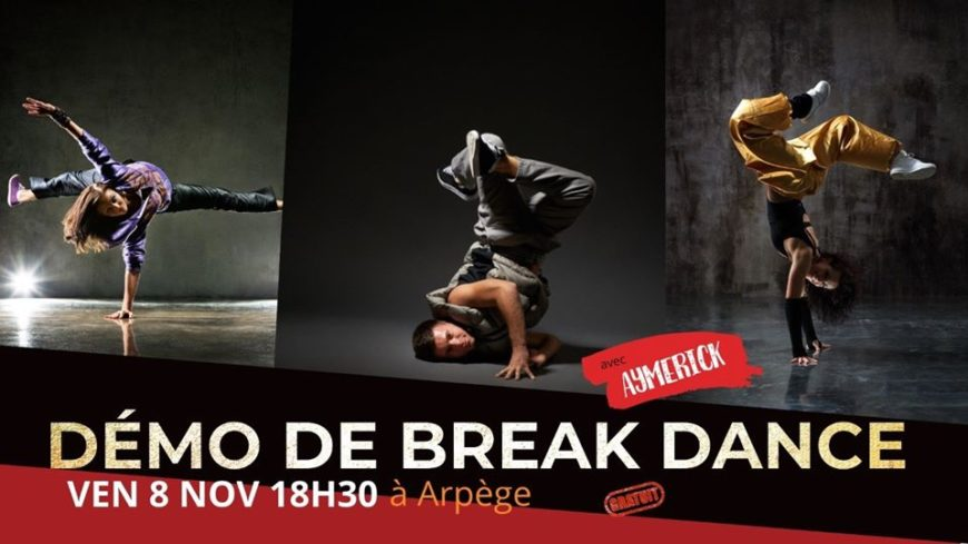 Démonstration de Break Dance