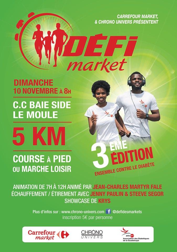 3éme édition du Défi Des Market 😍🌟🏁 10 NOVEMBRE 2019 – Le Moule