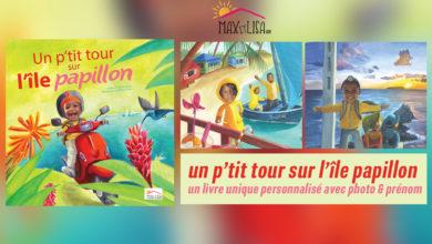 Maxetlisa présente le 1er livre personnalisé pour enfant en Guadeloupe avec photo et prénom