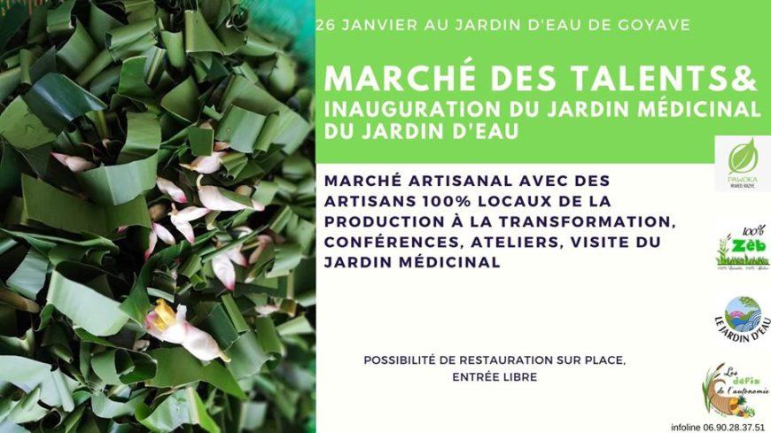 Marché des Talents Locaux & Inauguration du jardin médicinal