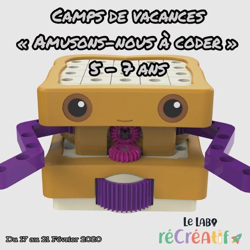Des ateliers de codage et de robotique pendant les vacances de Carnaval 🤖 5/7 ANS