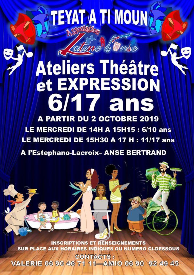 Ateliers Théâtre ET Expression 6/17