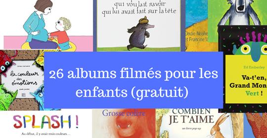 DES LIVRES FILMES POUR ENFANTS !