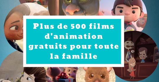Idée du jour : PLUS DE 500 FILMS d'ANIMATION