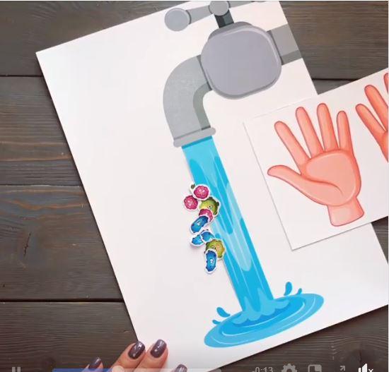 Se laver les mains c'est très important ! Spécial Covid19