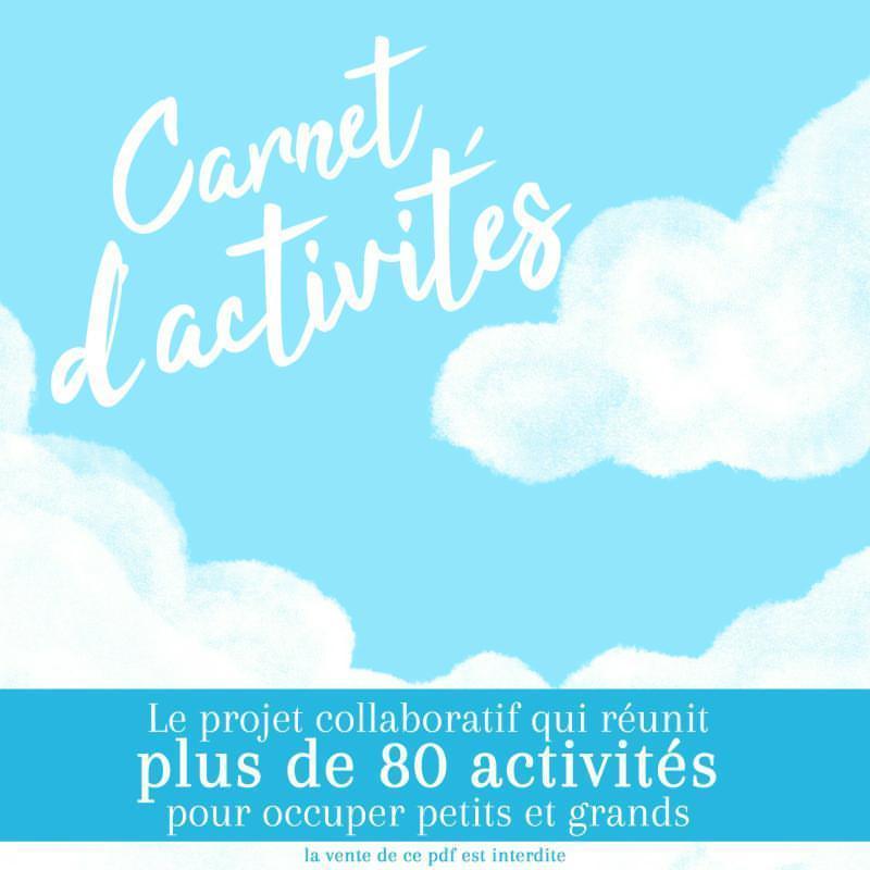 Un riche carnet d'activité avec 80 activités, pour petits et grands un travail collaboratif