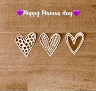 """Tuto spécial fête des mères """" Mini cadres coeurs"""""""