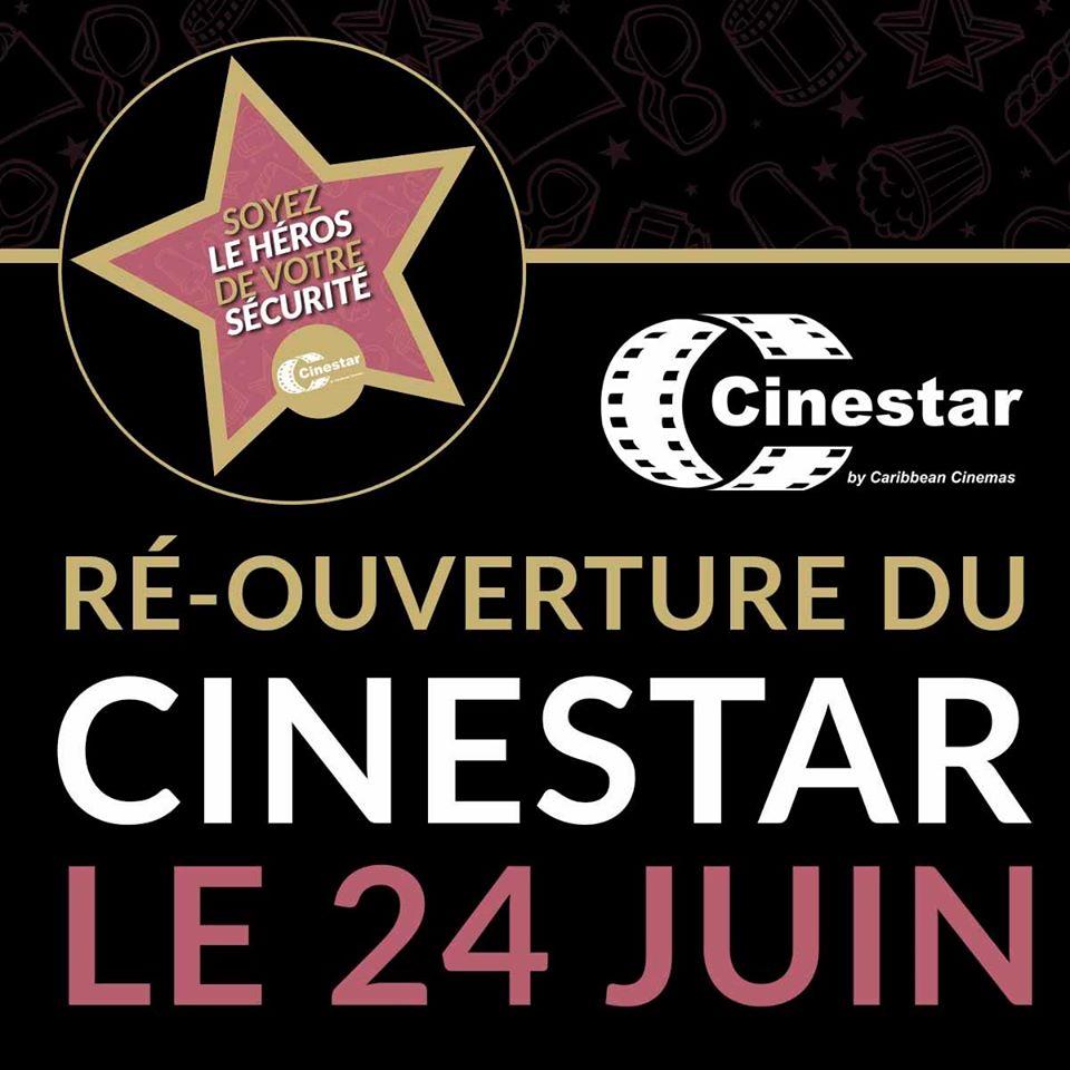 Réouverture du Cinestar le 24 juin