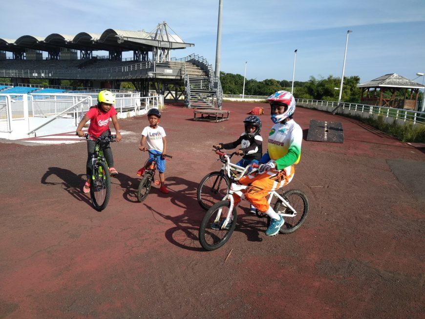 Accueil du séjour Club Vacances Juillet BMX Guadeloupe
