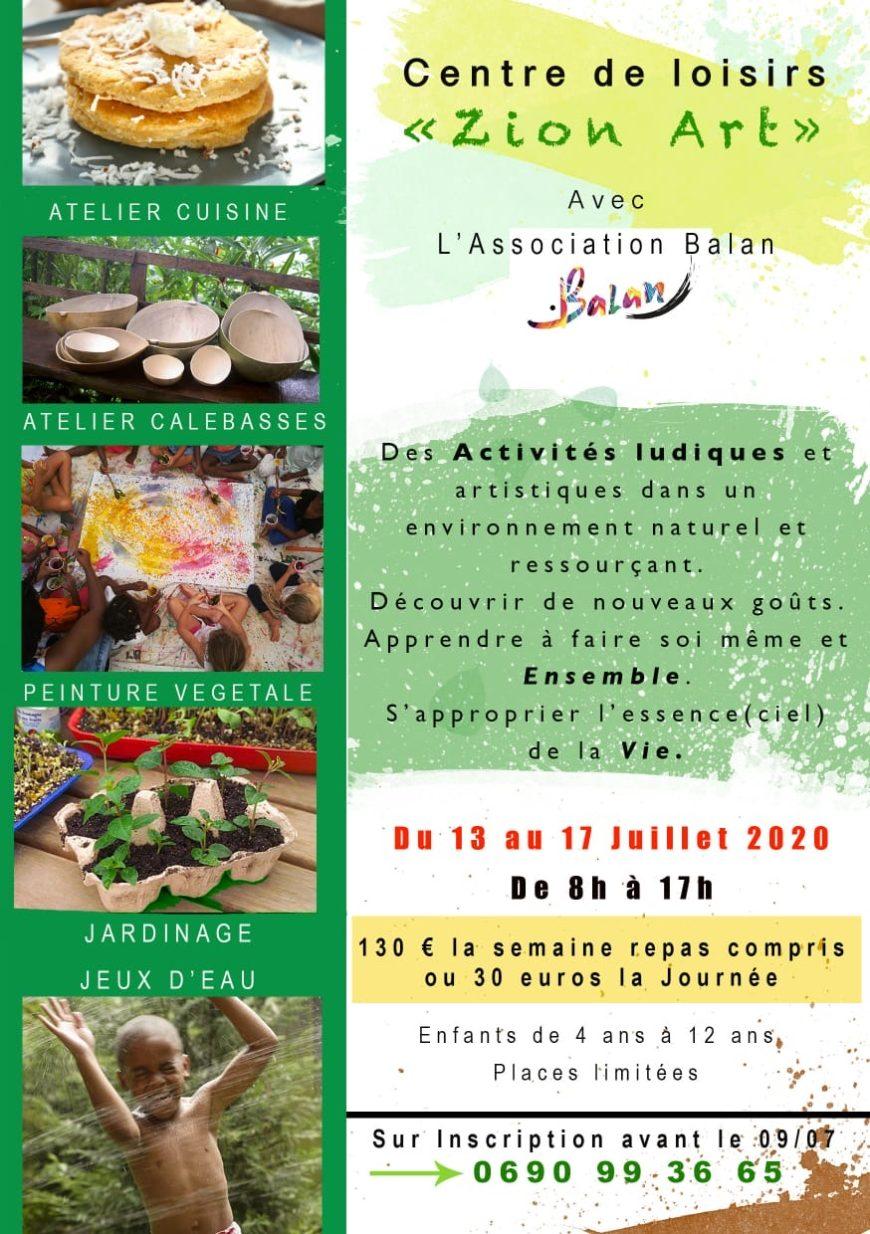 Centre de Loisirs Zion Art 4-12 ans