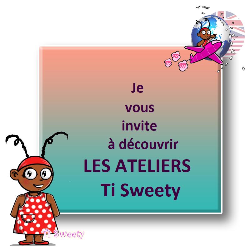 Le samedi, les ateliers Ti Sweety à Anse-Bertrand