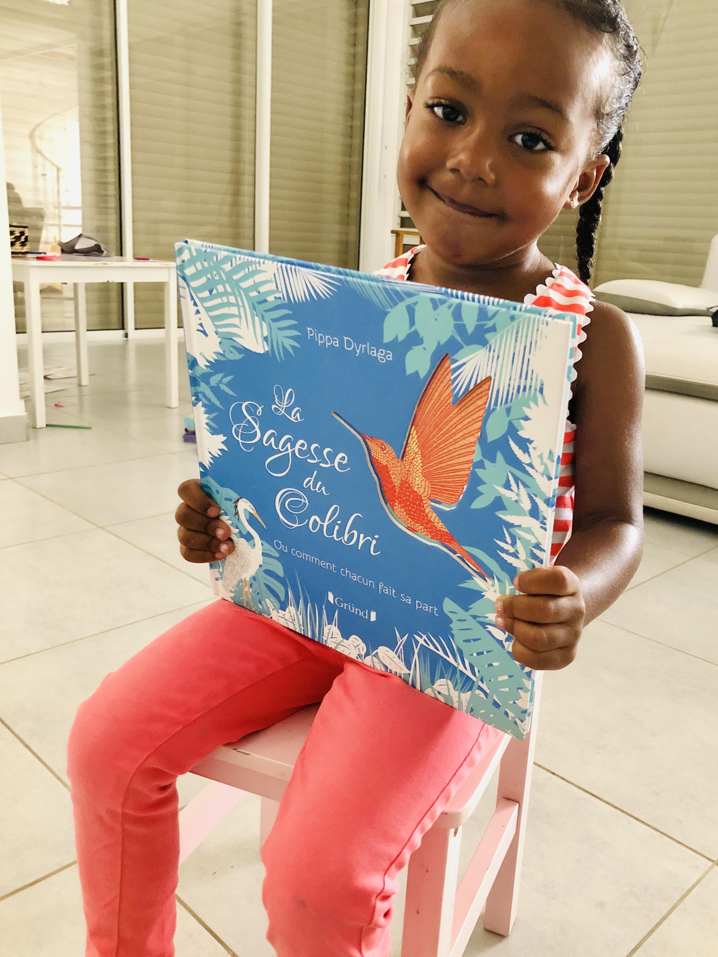 La sagesse du colibri ! Un magnifique album jeunesse