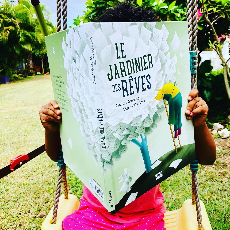 Le jardinier des rêves – Une ode à la lecture