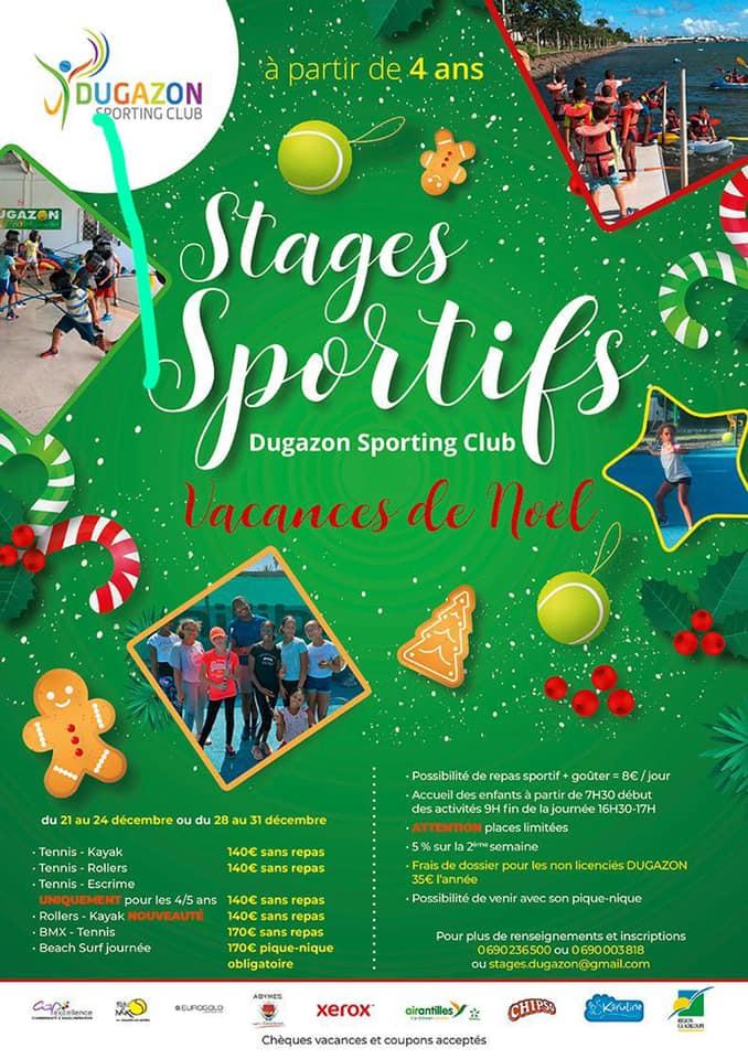 Stage sportif Noel – à partir de 4 ans – Abymes