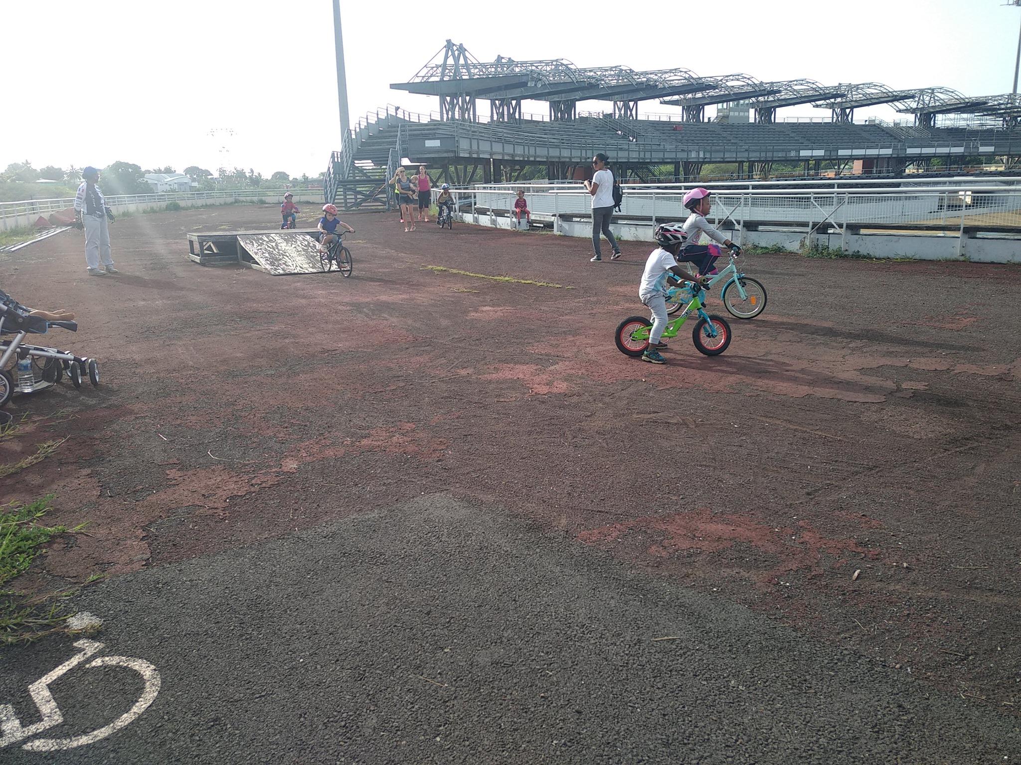 Centre Aéré BABY VELO BMX Guadeloupe
