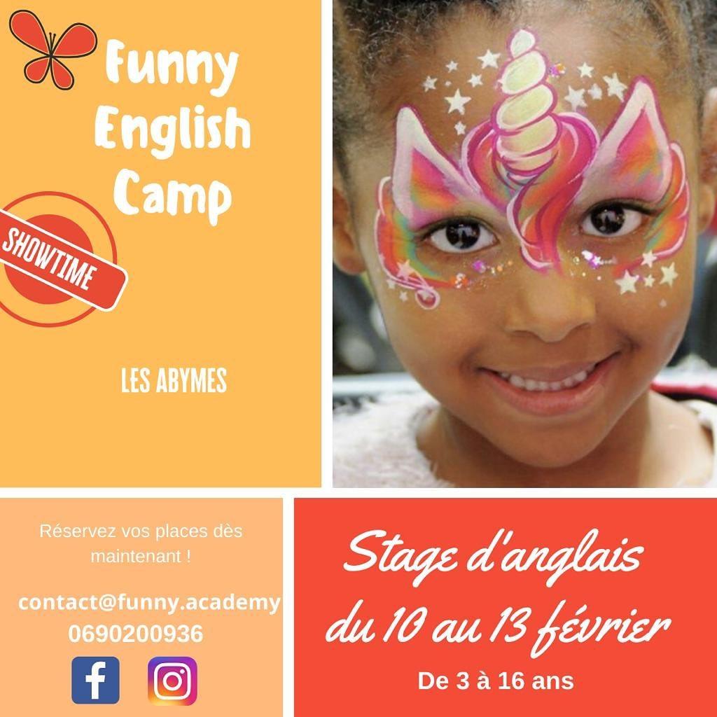 Vacances de Carnaval – Funny English – Abymes